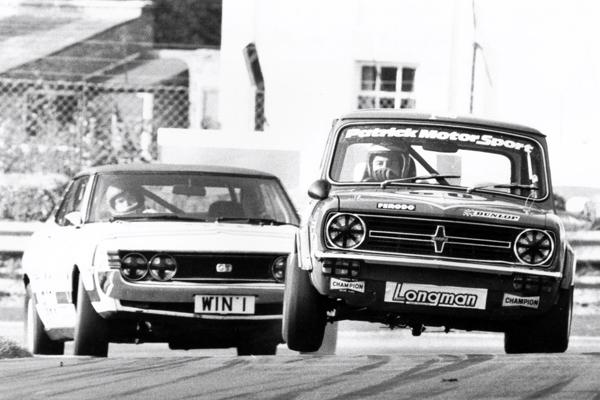 Mini Clubman 1275 GT Richard Longman 1978 BTCC Champion, BRDC Member, BRDC Silver Star, Longman Racing heritage