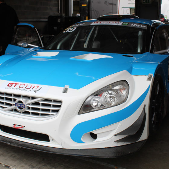 Volvo S60 GT, Solution F, APP Racing Engines, EFI Euro8 ECU , Paddleshift, OBR PCM2 Powerbox, OBR MSP, track support, Donington GP, Longman Racing.