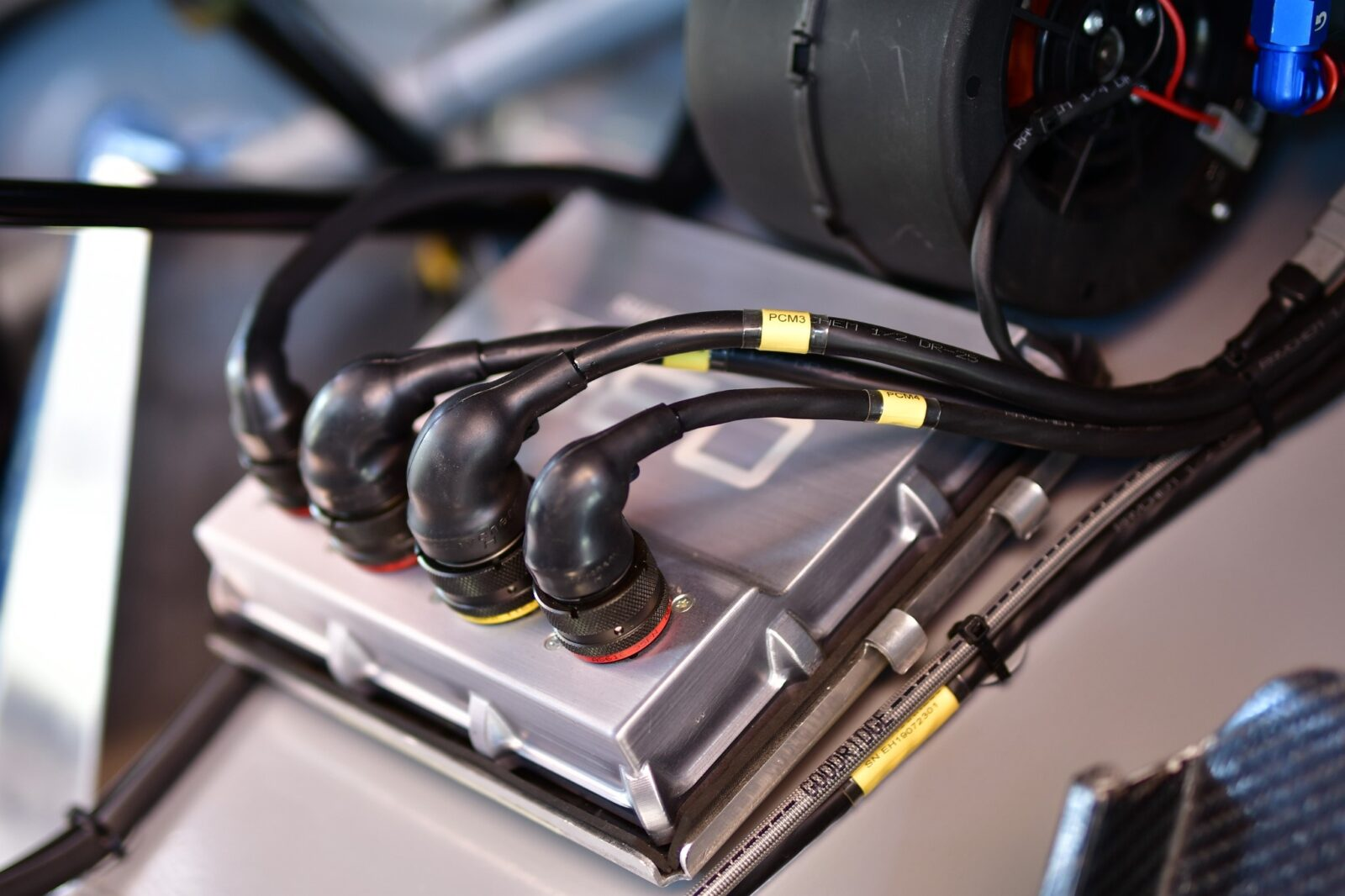 OBR powerbox PCM2, PDM, PCM, FIA R4 motorpsort electronics supplied by Longman Racing