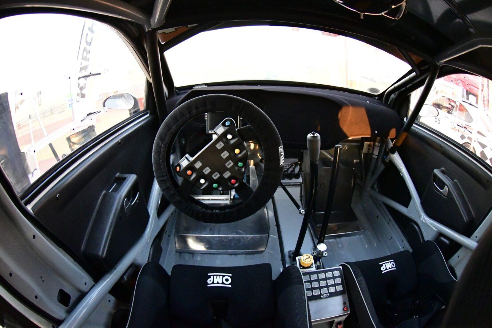 OBR MSP, OBR PCM2 powerbox, OBR SWC can controller, Plex Tuning SDM 550 datalogger, FIA R4 motorpsort electronics supplied by Longman Racing